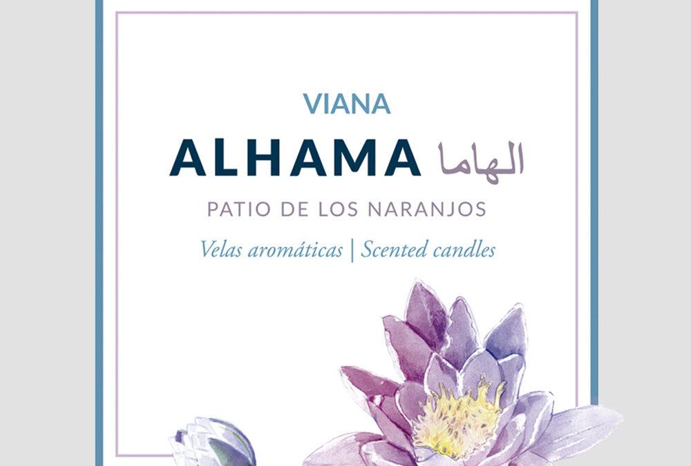 Linea de ambientación. Palacio de Viana