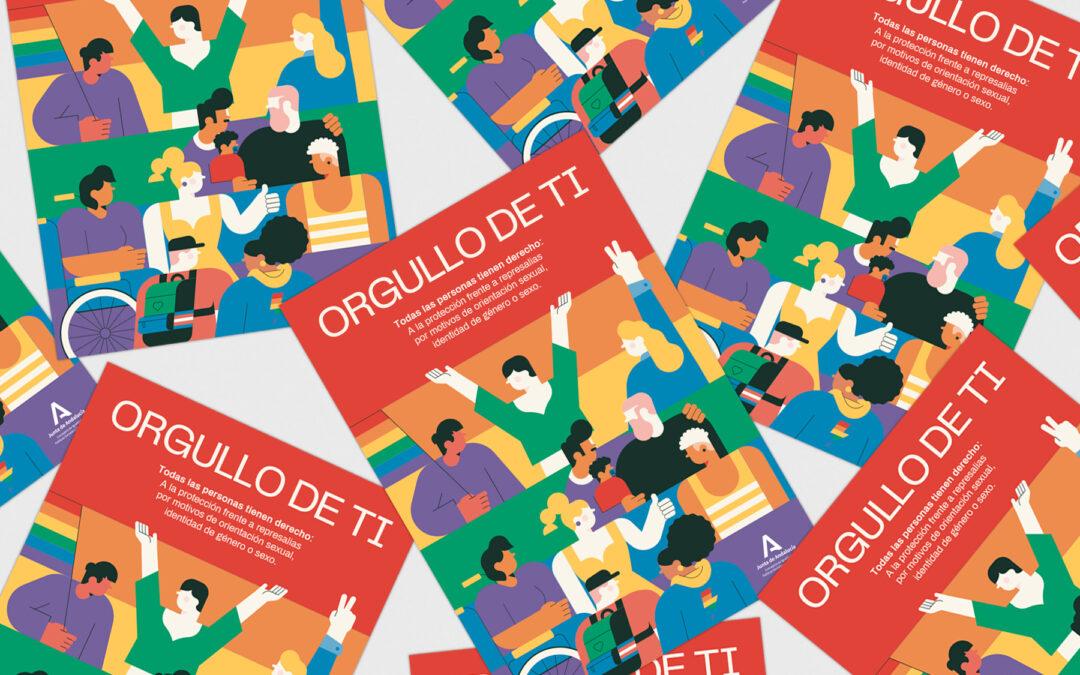 Orgullo de ti. Campaña LGTBI Junta de Andalucía